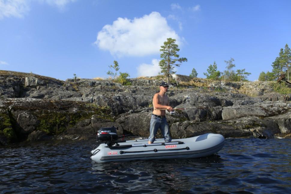 Характеристики и описание надувной лодки из ПВХ Посейдон Смарт-310LE