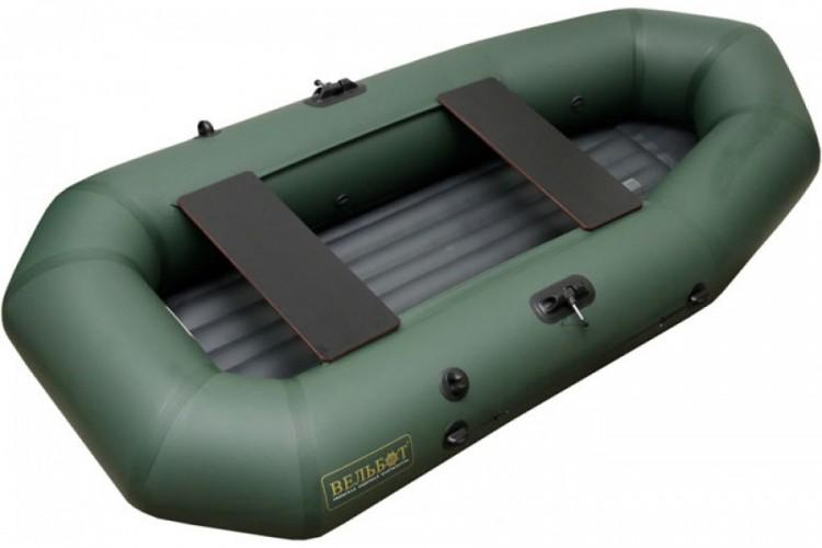 лодка вуд 2 с надувным дном